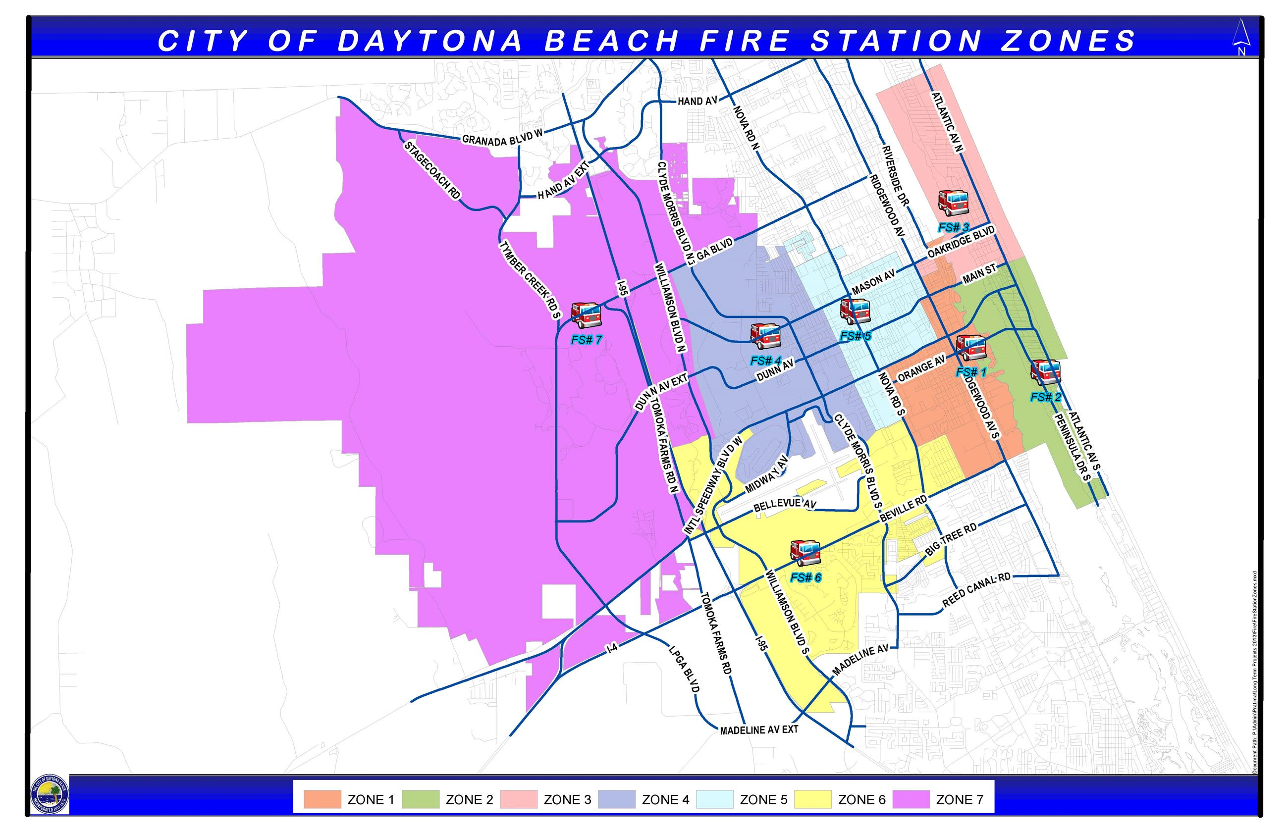 Fire Station Zones